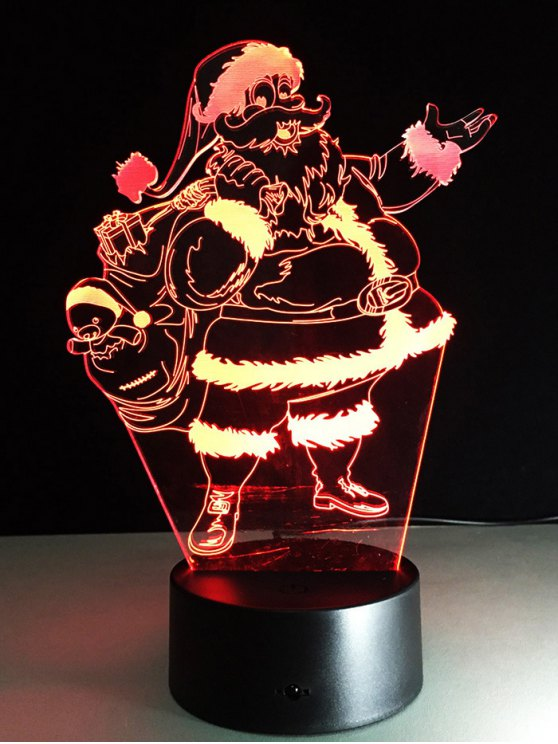 Merry Christmas Santa Claus Touch Night Light -   Mobile