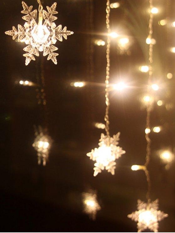 outfit Christmas Pendant LED String Light - WARM WHITE LIGHT