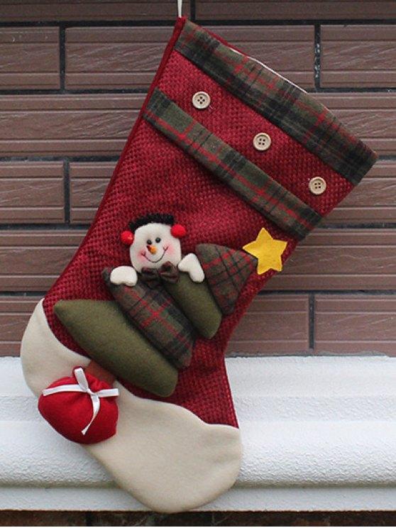 Santa Clous Christmas Present Sock -   Mobile