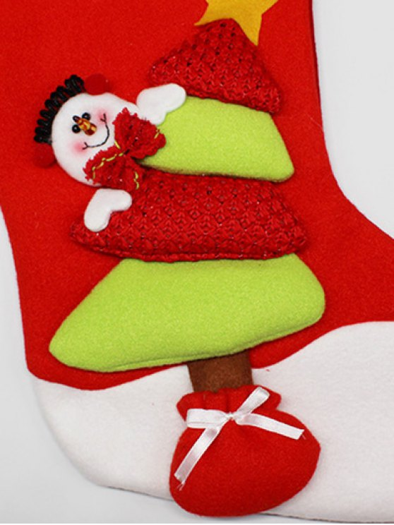 Xmas Tree Hanging Gift Sock -   Mobile
