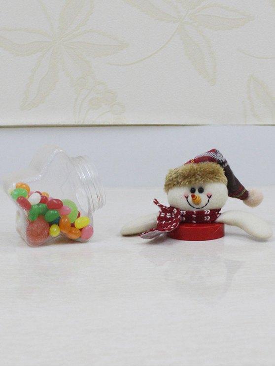 Christmas Snowman Kids Gift Candy Jar -   Mobile