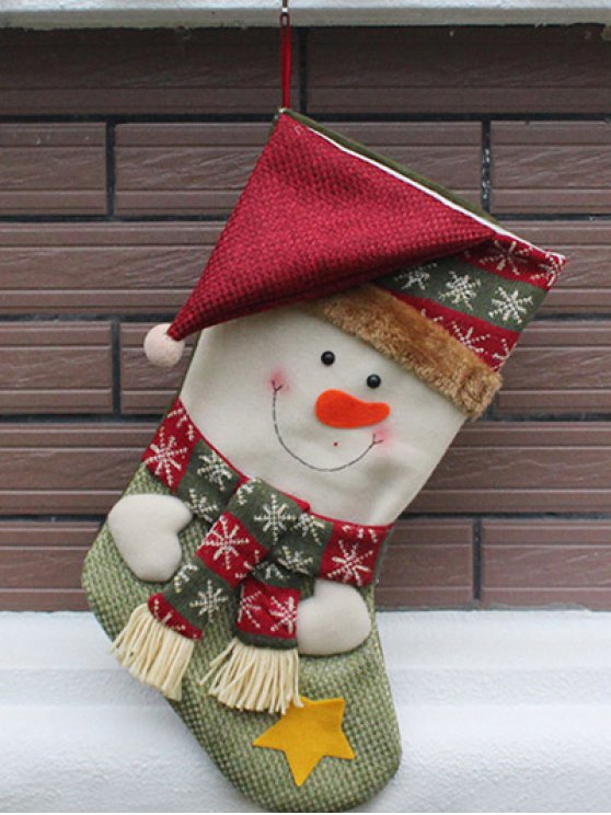 Christmas Snowman Hanging Kids Candy Sock -   Mobile