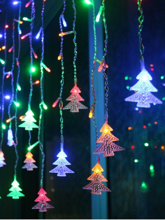 Christmas Tree Pendant LED String Light Indoor Decoration Supplies -   Mobile
