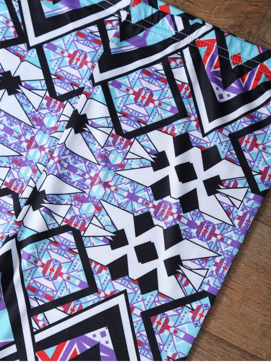 Geometric Leggings - COLORMIX M Mobile