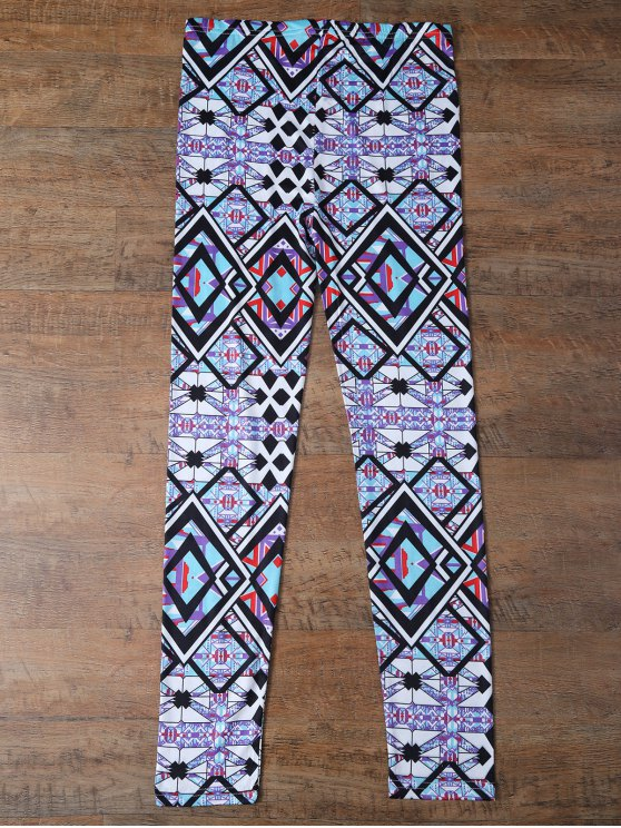 Geometric Leggings - COLORMIX L Mobile