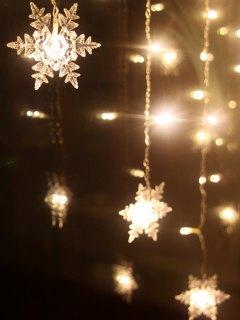 عيد الميلاد قلادة الصمام سلسلة ضوء - دافئ الضوء الأبيض