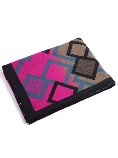 trendy Geometry Pattern Cape Pashmina -   Mobile