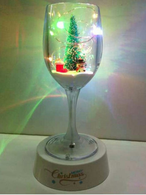 hot USB Christmas Goblet Cup LED Night Light - COLORFUL  Mobile