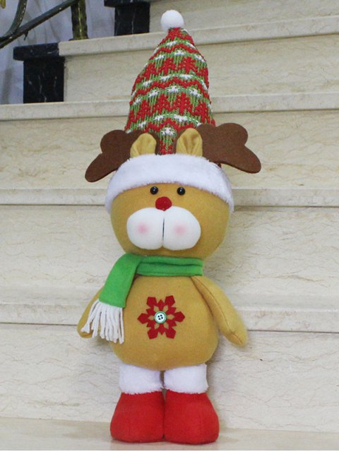buy Christmas Gift Elk Doll Xmas Decoration -   Mobile