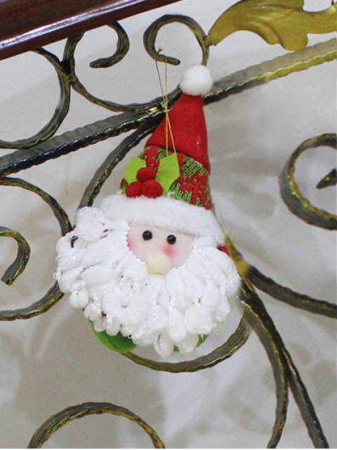 shops Santa Claus Doll Pendant Xmas Tree Decoration -   Mobile