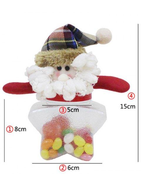 affordable Christmas Transparent Star Shape Candy Jar -   Mobile
