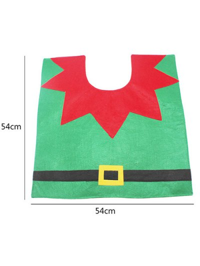 Christmas Decoration Cartoon Cover Set - RED AND GREEN  Mobile