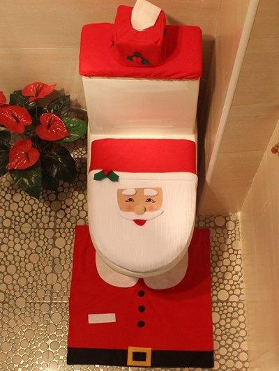 Christmas Santa Cover Set - Red