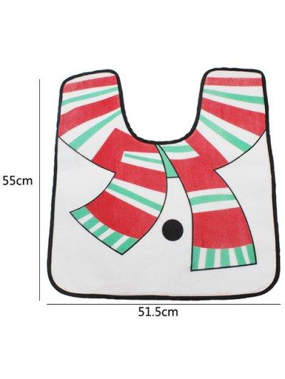 Christmas 3PCS Snowman Pattern Cover Set - WHITE  Mobile