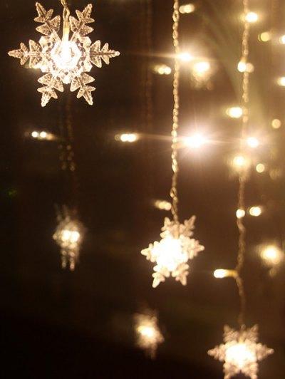 Christmas Pendant LED String Light - Warm White Light