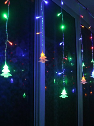 Christmas Tree Pendant LED String Light Indoor Decoration - COLORFUL  Mobile