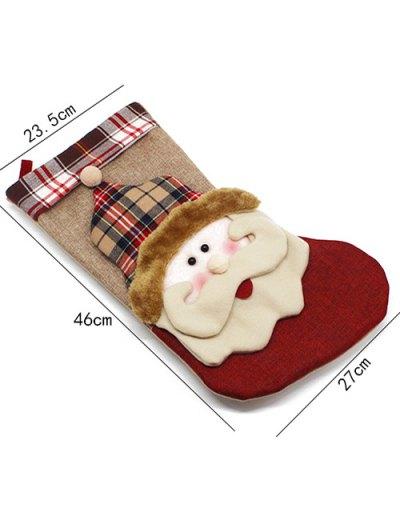 Christmas Hanging Gift Sock Xmas Tree Decor - COLORMIX  Mobile