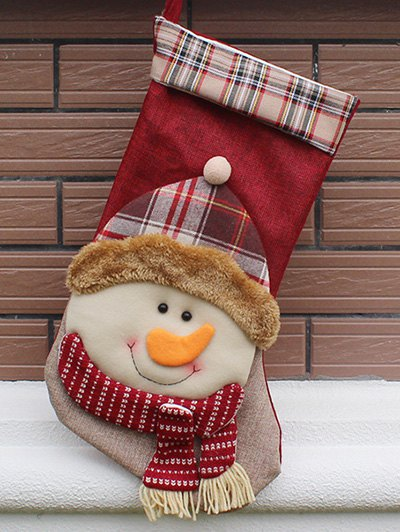 Christmas Present Decoration Bag Sock - COLORMIX  Mobile