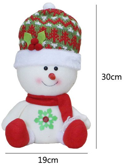 Christmas Snowman Party Decoration - RED WITH WHITE  Mobile
