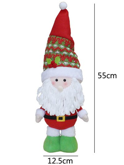 Santa Claus Christmas Decoration - RED WITH WHITE  Mobile