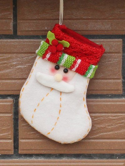 Christmas Santa Party Decoration - RED WITH WHITE  Mobile