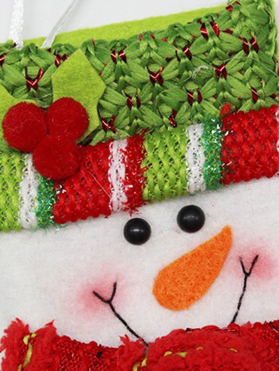 Snowman Christmas Party Decor - RED WITH WHITE  Mobile