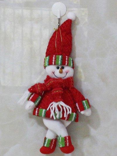 Christmas Hanging Pendant Xmas Tree Decor - RED  Mobile