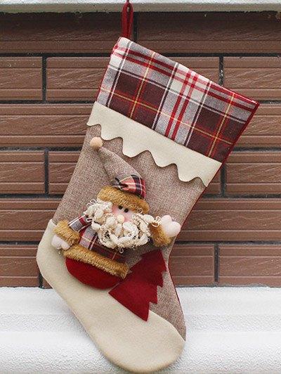 Christmas Santa Hanging Kids Candy Present Sock - COLORMIX  Mobile