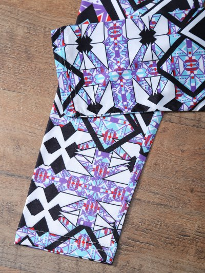 Geometric Leggings - COLORMIX XL Mobile