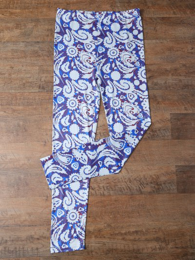 Plant Patterned Leggings