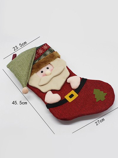 Christmas Santa Hanging Kids Candy Sock - COLORMIX  Mobile