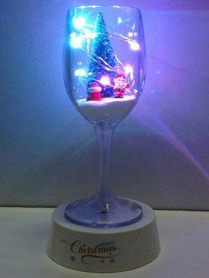 USB Christmas Goblet Cup LED Night Light