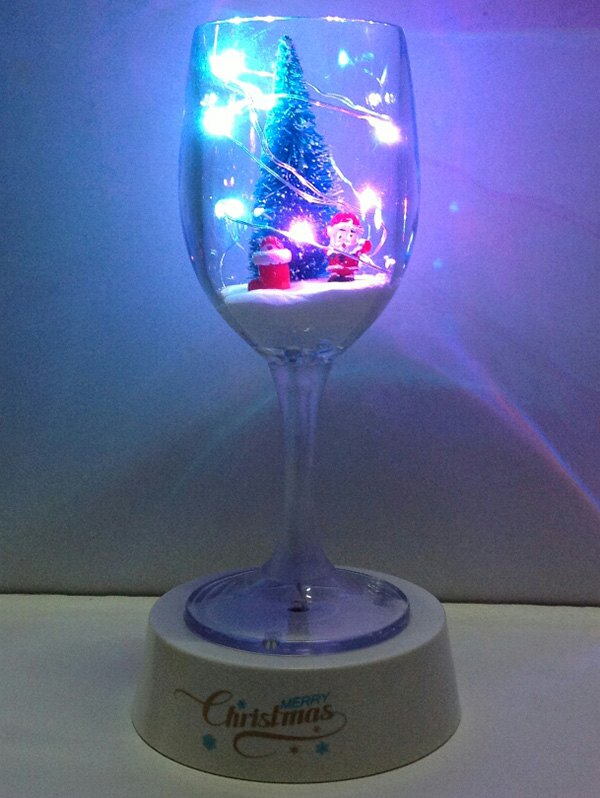 USB Christmas Goblet Cup LED Night Light 201032301