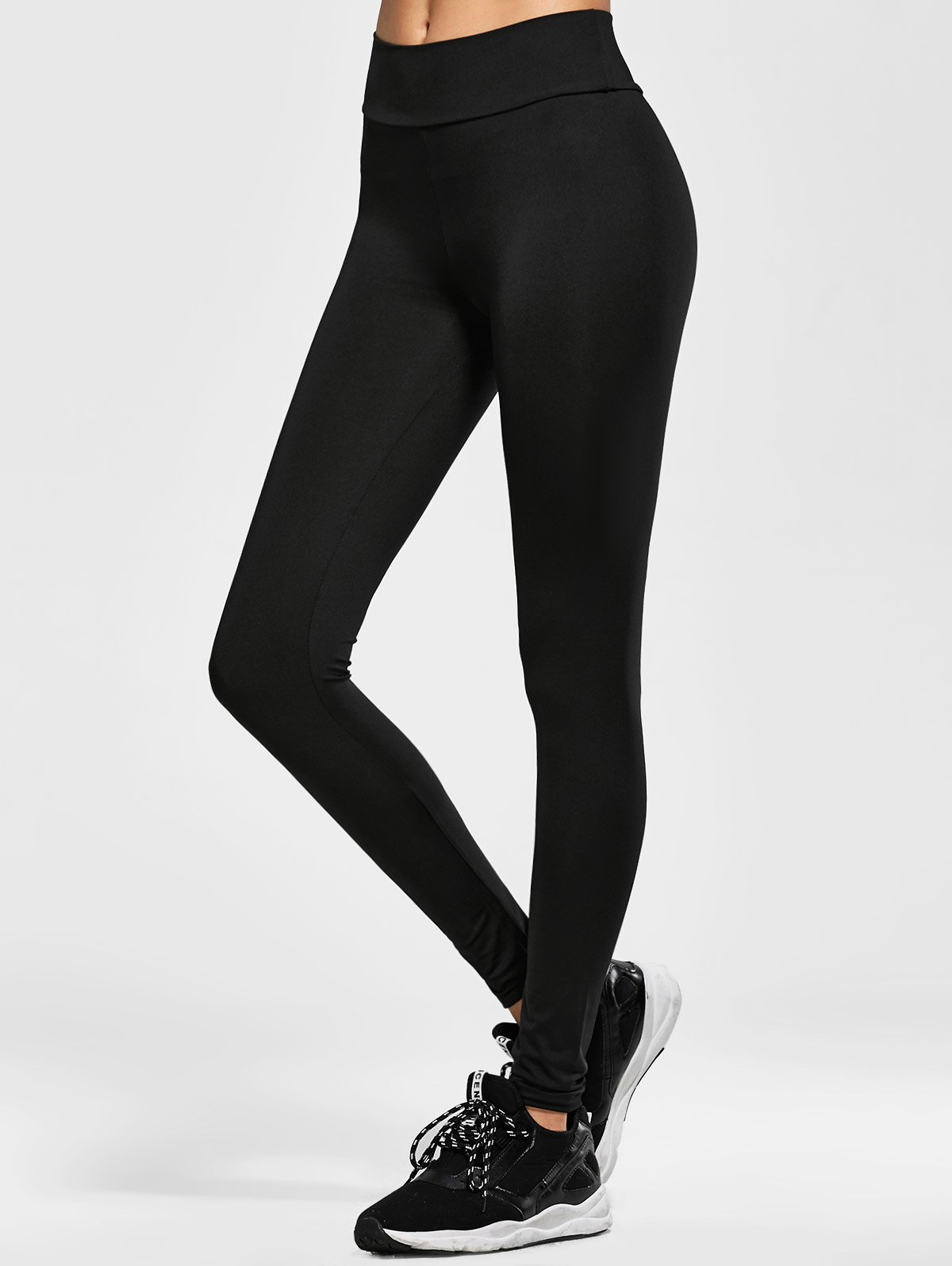 Skinny Elastic Waist Leggings