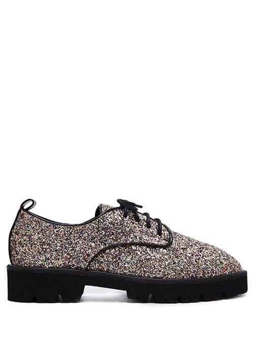 Sequins Platform Shoes