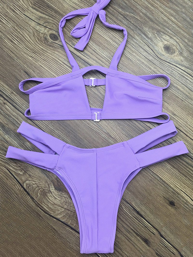Strappy Cut Out Bikini