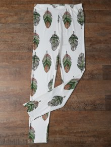 Slimming Leaf Leggings