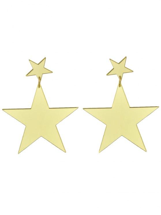 Star Earrings - GOLDEN  Mobile
