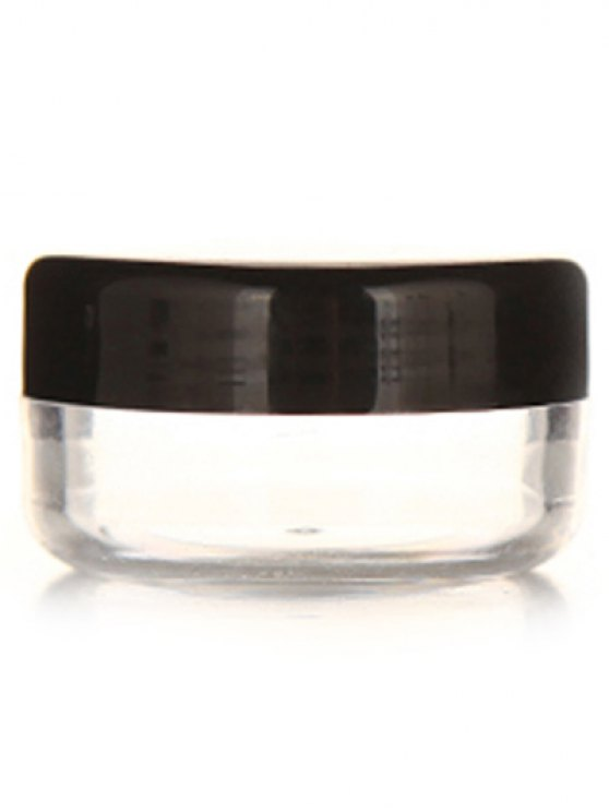 2 Pcs Travel Cosmetic Jars - BLACK  Mobile
