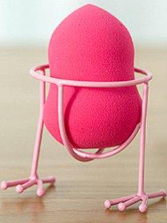 Makeup Sponge Holder Makeup Sponge Drying Stand - Pink