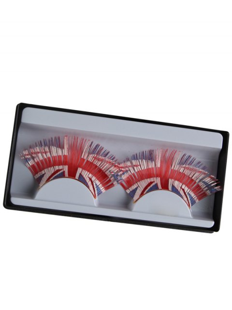 online Union Jack False Eyelashes -   Mobile
