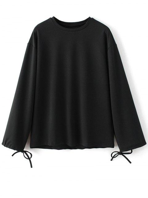 latest Printed Overzied Sweatshirt - BLACK M Mobile