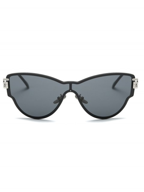 outfit Butterfly Wrap Sunglasses - BLACK  Mobile