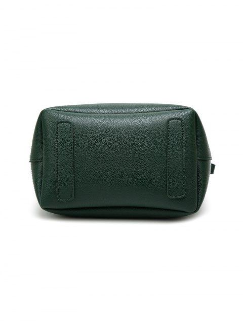 hot Tassel Shoulder Bag With Wristlet - BLACK  Mobile