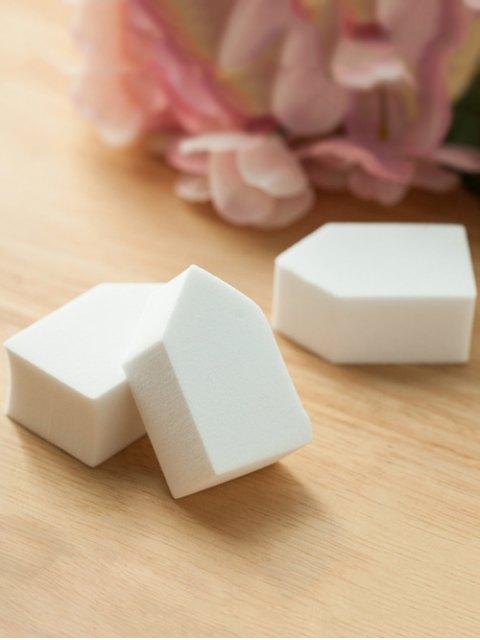 hot 6 Pcs Powder Makeup Sponges - WHITE  Mobile