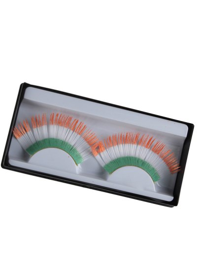 Irish Flag False Eyelashes - COLORMIX  Mobile