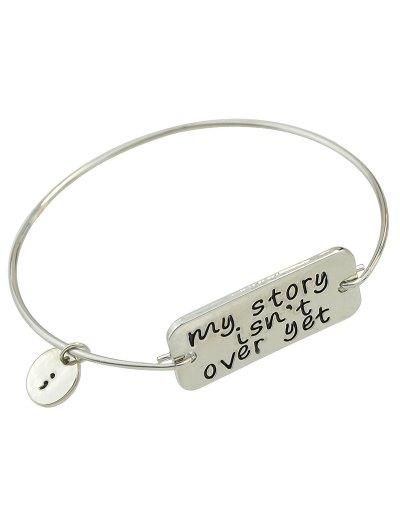 Engraved Bracelet - SILVER  Mobile