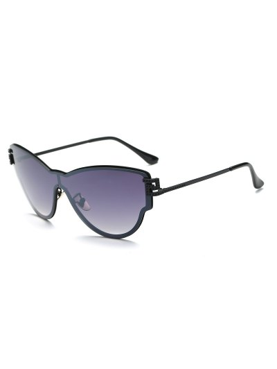 Butterfly Wrap Sunglasses - DEEP PURPLE  Mobile