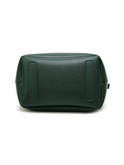 Tassel Shoulder Bag With Wristlet - GRAY  Mobile