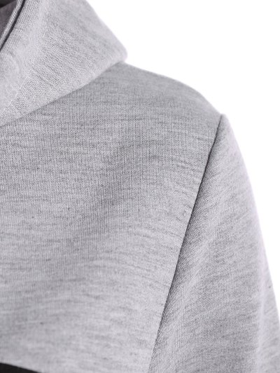 Hangover Cropped Hoodie - GRAY XL Mobile
